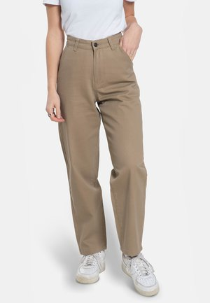 BAGGY - Trousers - sand
