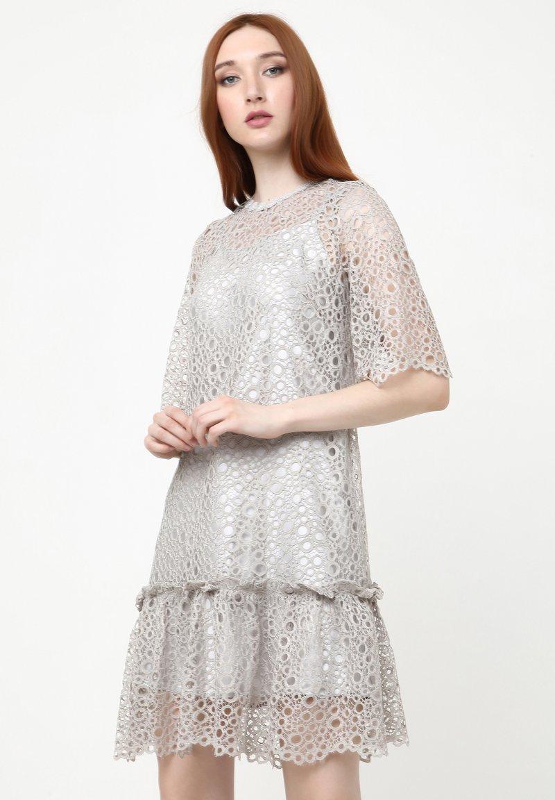 Madam-T - FIKERA - Cocktail dress / Party dress - grau