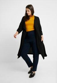 Evans - LONGLINE JACKET - Krátký kabát - black - 1