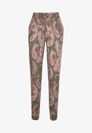 ROKA AMBER PANTS - Bukser - grape leaf