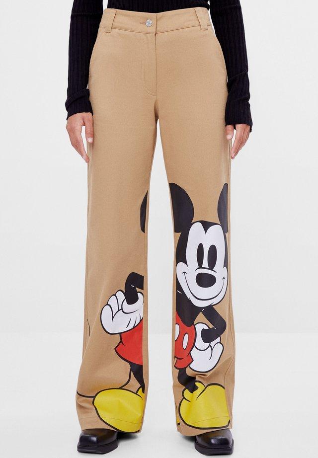 Pantalons outdoor - brown