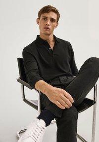 Massimo Dutti - Polo shirt - black - 5