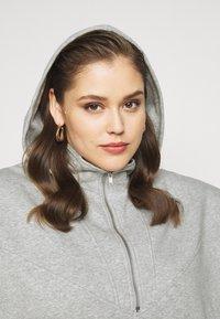 Pieces Curve - PCRIO  LOUNGE  CURVE - Sweatshirt - light grey melange - 5