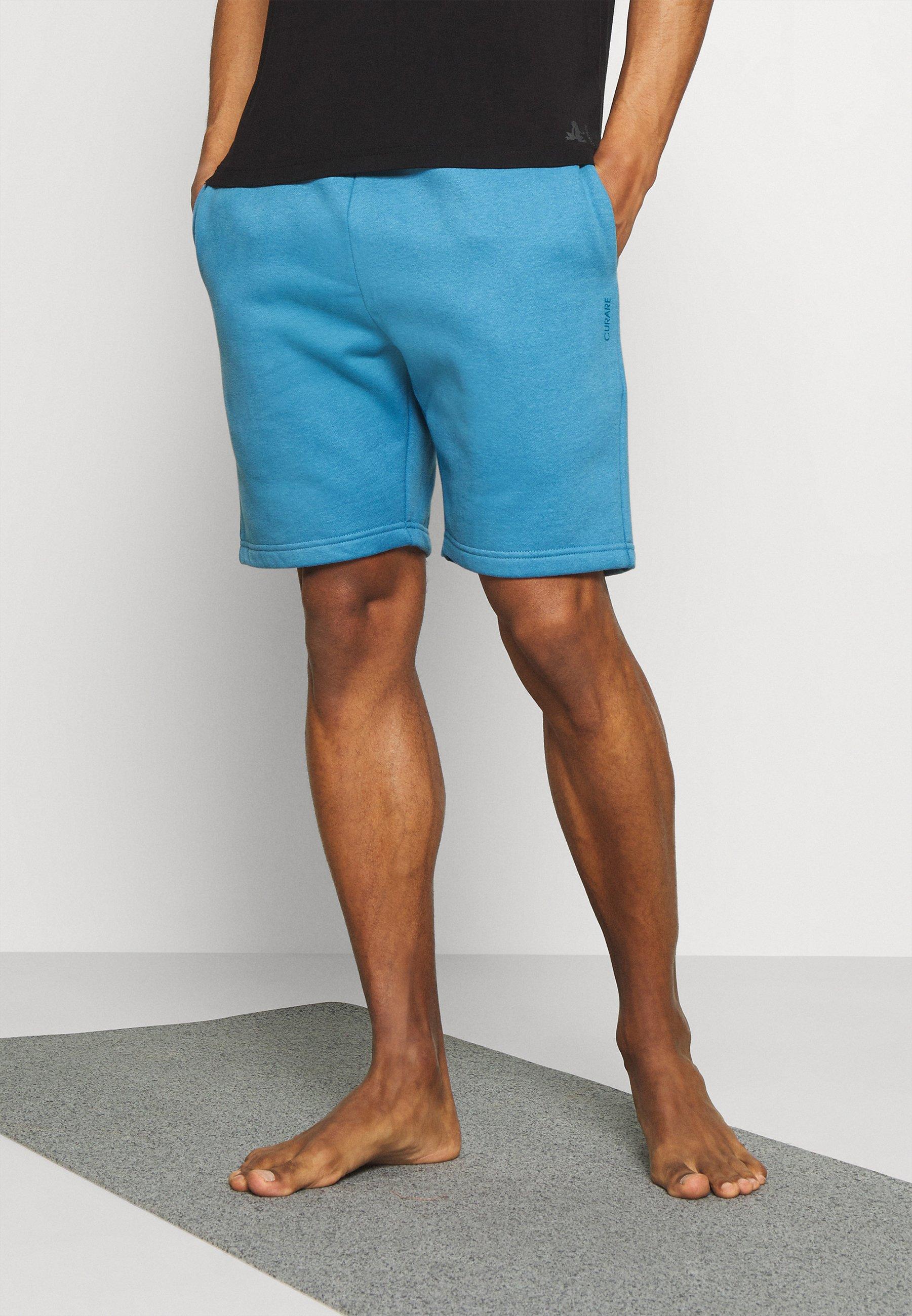 Men SHORTS - Sports shorts - light blue