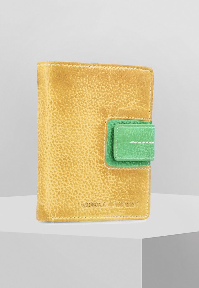 CANDY-SHOP - Wallet - yellow/forest