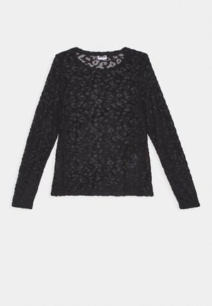 NMCAS - Long sleeved top - black