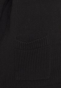 Hollister Co. - LONG LENGTH SHAKER CARDI - Neuletakki - black - 2