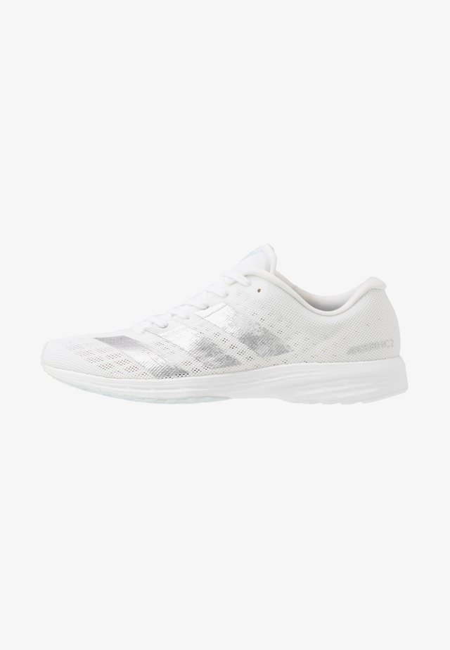 ADIZERO RC 2 - Juoksukenkä/neutraalit - footwear white/silver metallic/sky tint