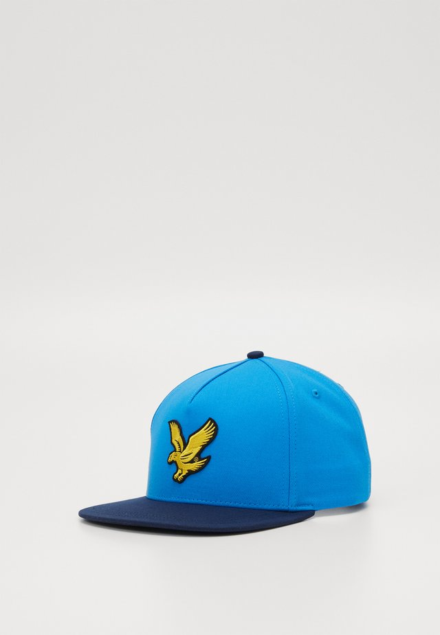 COLOUR BLOCK EAGLE - Cap - dark navy/bright royal blue