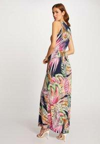 Morgan - WITH VEGETAL PRINT - Maxi dress - dark blue - 1