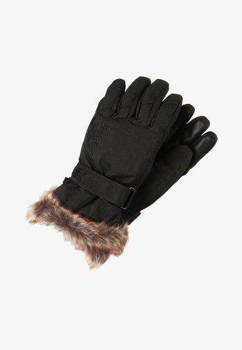 KIM - Rękawiczki pięciopalcowe - black/stru