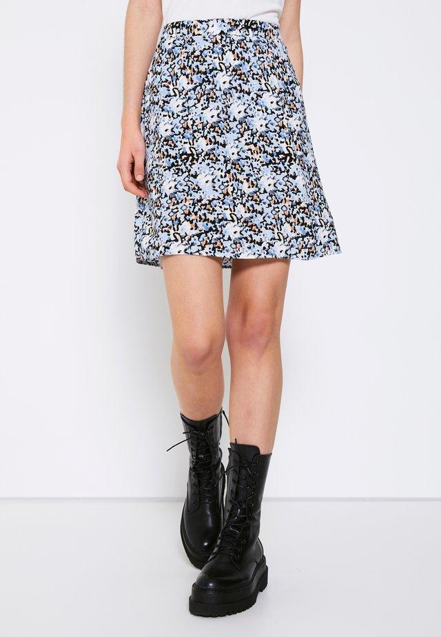 TESSA SHORT - Minijupe - blue