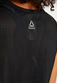 Reebok - TANK - Treningsskjorter - black - 4