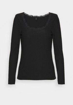 ONLNELLA  - Bluzka z długim rękawem - black