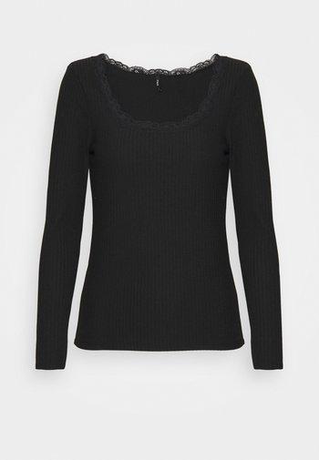 ONLNELLA  - Camiseta de manga larga - black