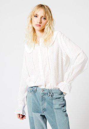 BLOUSE BONNIE - Button-down blouse - off white