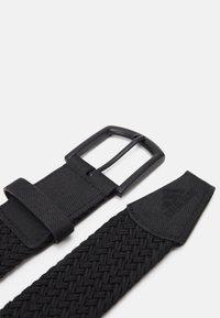 adidas Golf - BRAIDED  - Pásek - black - 2