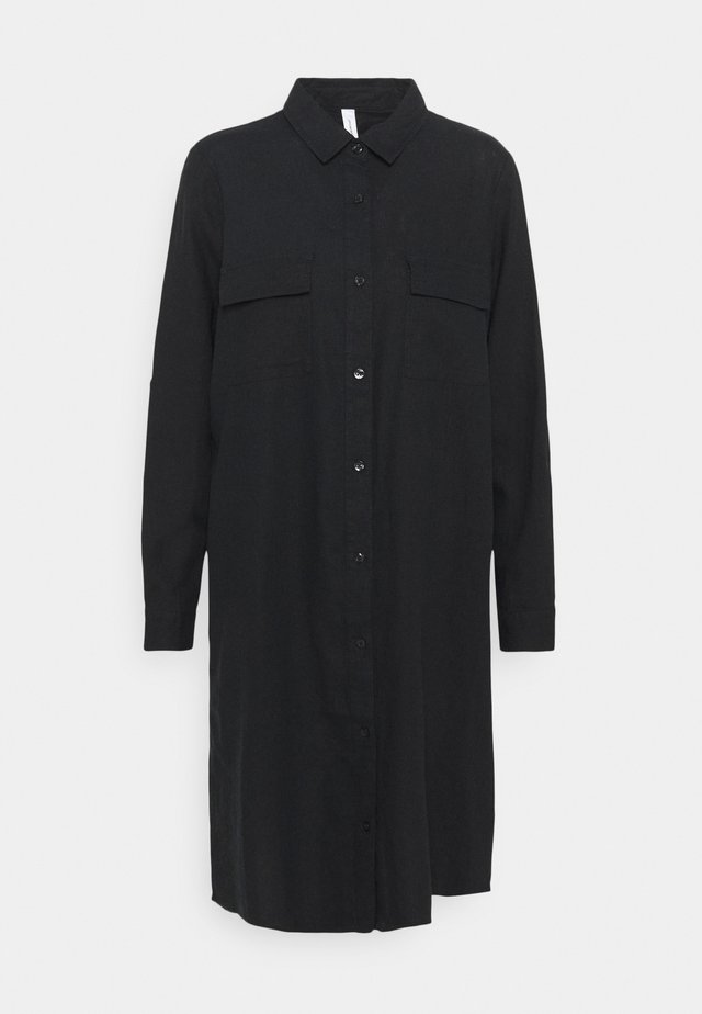 INA - Shirt dress - black