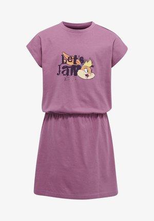 HMLSPACE JAM TWILIGHT - Jersey dress - bordeaux