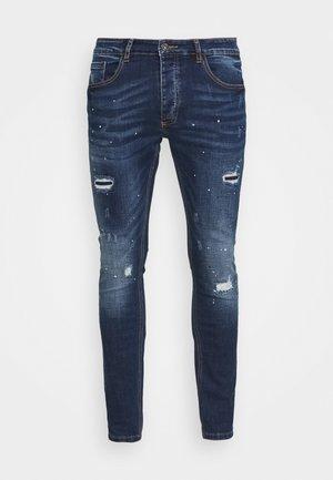 LARKIN - Slim fit jeans - indigo blue