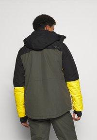 Brunotti - ARACIN MENS SNOWJACKET - Snowboardová bunda - pine grey - 2