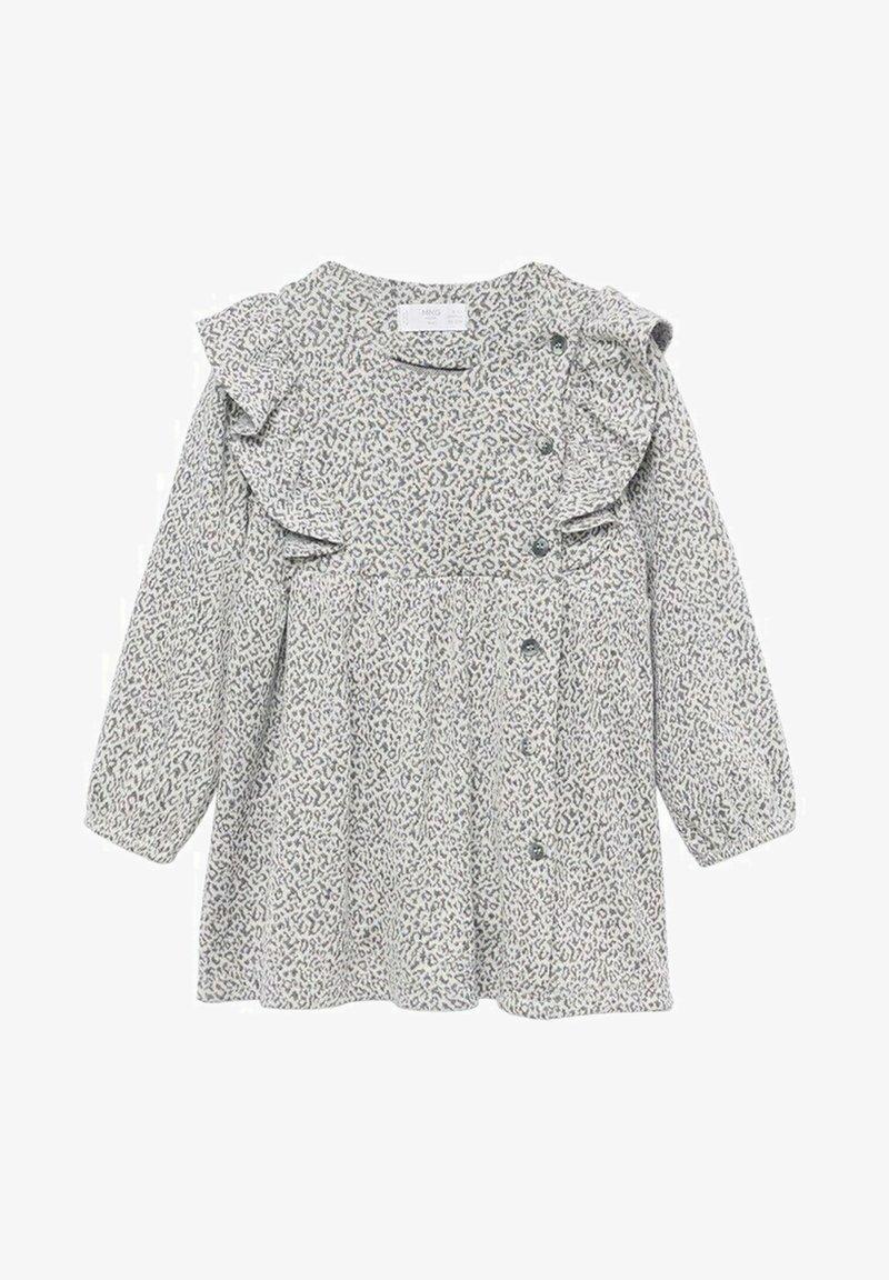 Mango - Gebreide jurk - grey