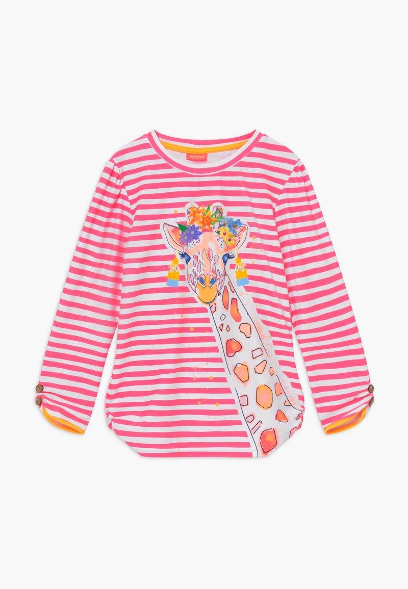 Sunuva - GIRLS LONG SLEEVE - Koszulki do surfowania - hot pink