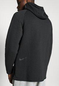 Nike Sportswear - HOODIE  - Sudadera con cremallera - black/anthracite - 5
