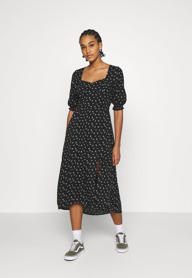 TREND MIDI DRESS  - Sukienka letnia - black