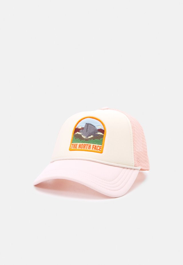 VALLEY TRUCKER UNISEX - Keps - pink/vintage white