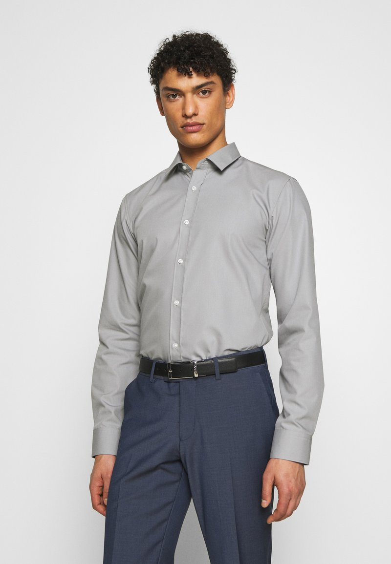 HUGO - ELISHA - Formal shirt - grey