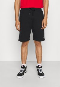 STAPLE PIGEON - PIPED UNISEX - Shorts - black - 0
