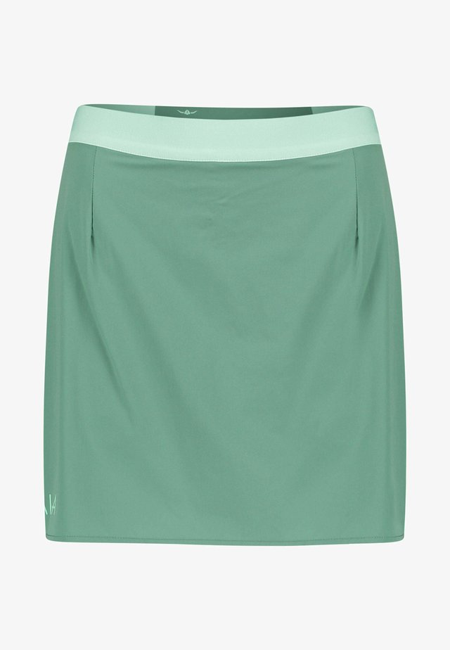 VAALA - Sports skirt - grün