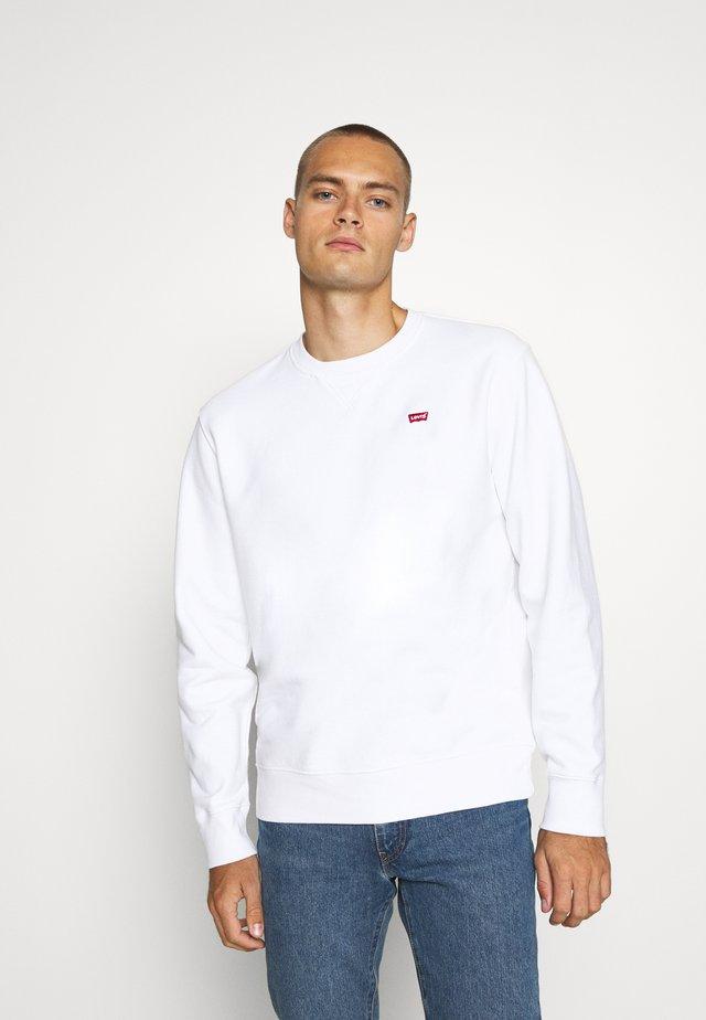 NEW ORIGINAL CREW UNISEX - Sweatshirt - white