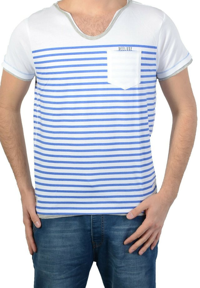 FISHER - T-shirt imprimé - white