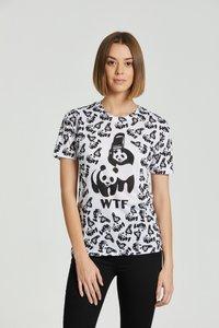 Mr. GUGU & Miss GO - Print T-shirt - white - 7