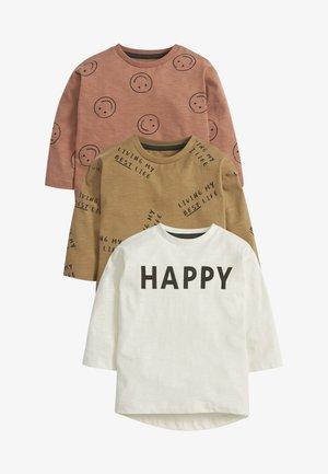 3 PACK - Long sleeved top - pink