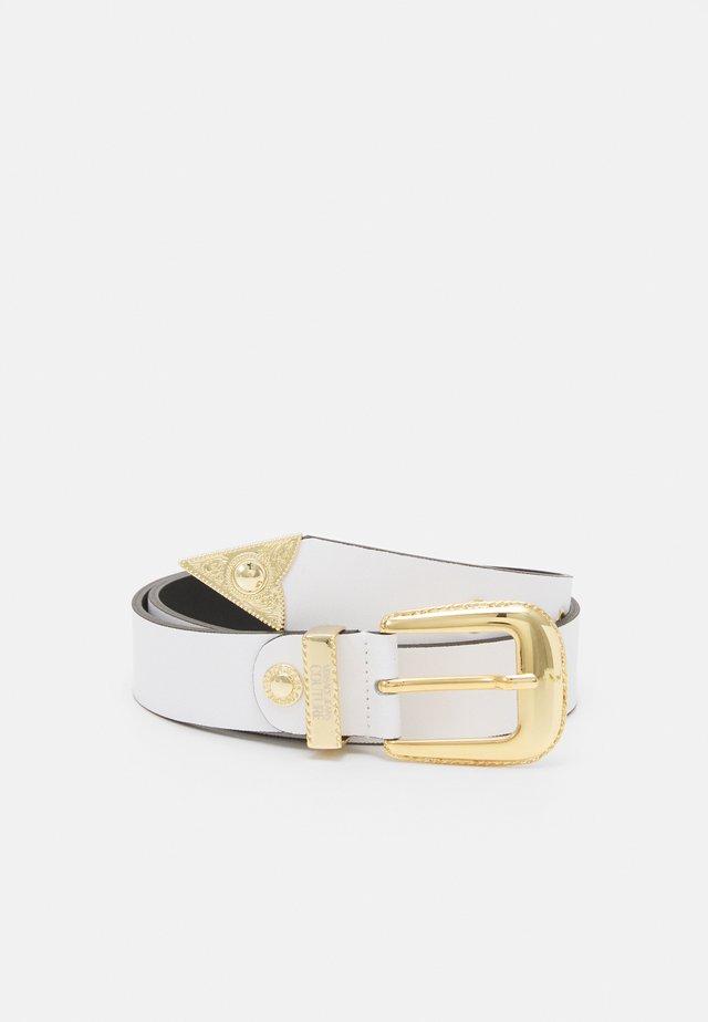 PIN BUCKLE - Cintura - bianco ottico