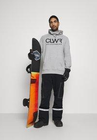 COLOURWEAR - BOWL HOOD - Sweater - grey - 1