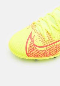 Nike Performance - MERCURIAL 8 CLUB MG UNISEX - Moulded stud football boots - volt/black/bright crimson - 5