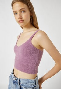 PULL&BEAR - Top - mottled pink - 3