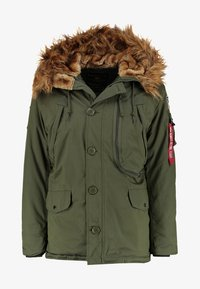 Alpha Industries - Parka - dark green - 8