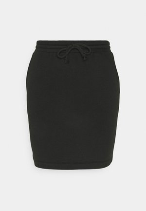 PCCHILLI SKIRT - Mini skirt - black