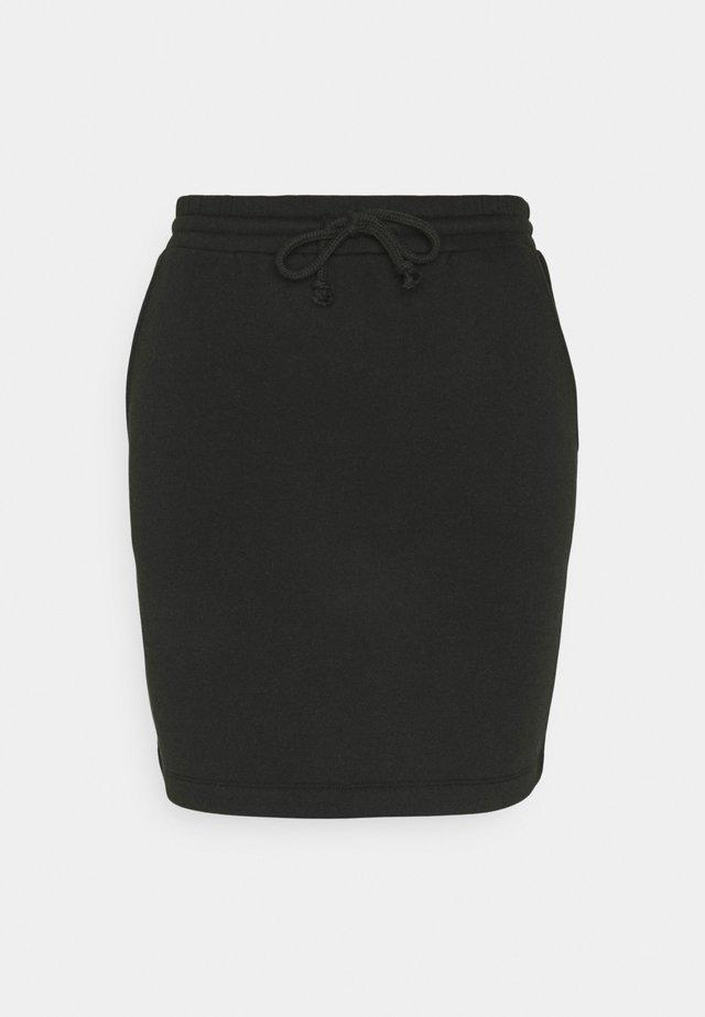 PCCHILLI SKIRT - Spódnica mini - black