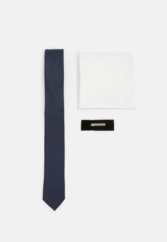 JACRICK GIFT BOX SET - Einstecktuch - navy blazer