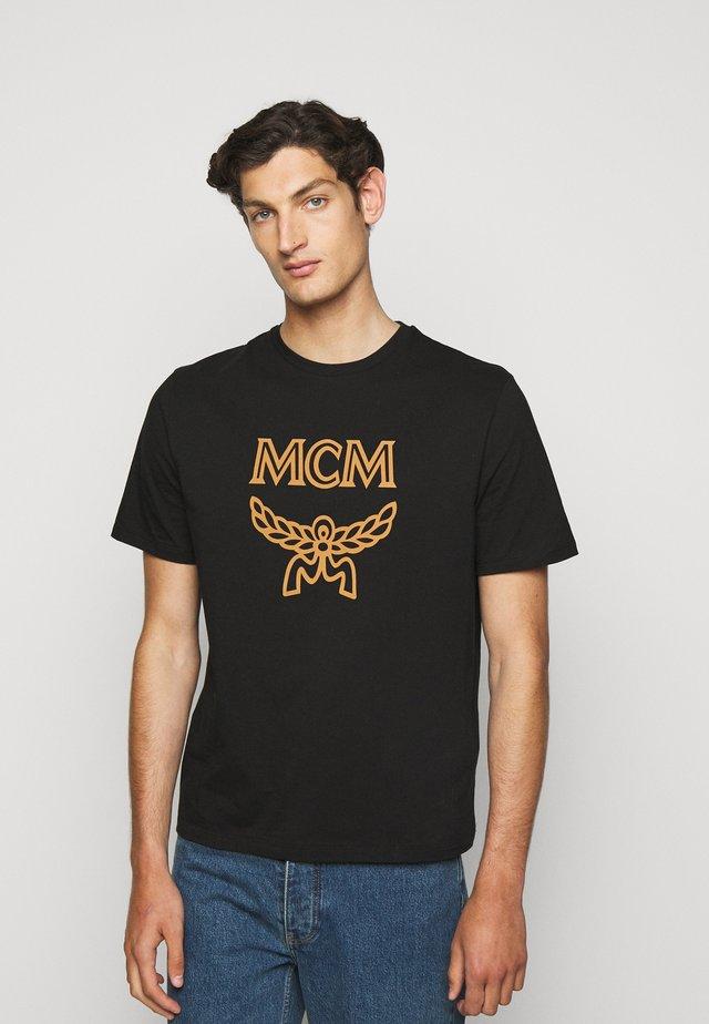 CLASSIC CREW - Print T-shirt - black