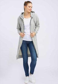 DreiMaster - Zip-up hoodie - light grey melange - 1