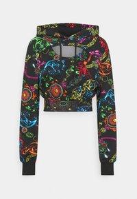 Sweatshirt - black/multi