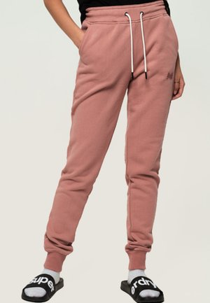 ORANGE LABEL - Tracksuit bottoms - smoke rose
