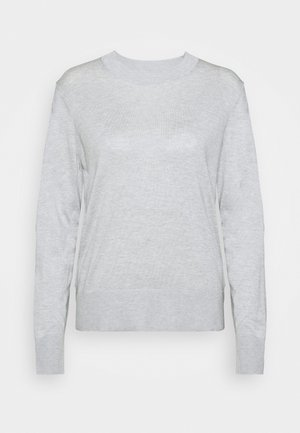 EASY CREW SOLIDS - Jumper - light heather grey